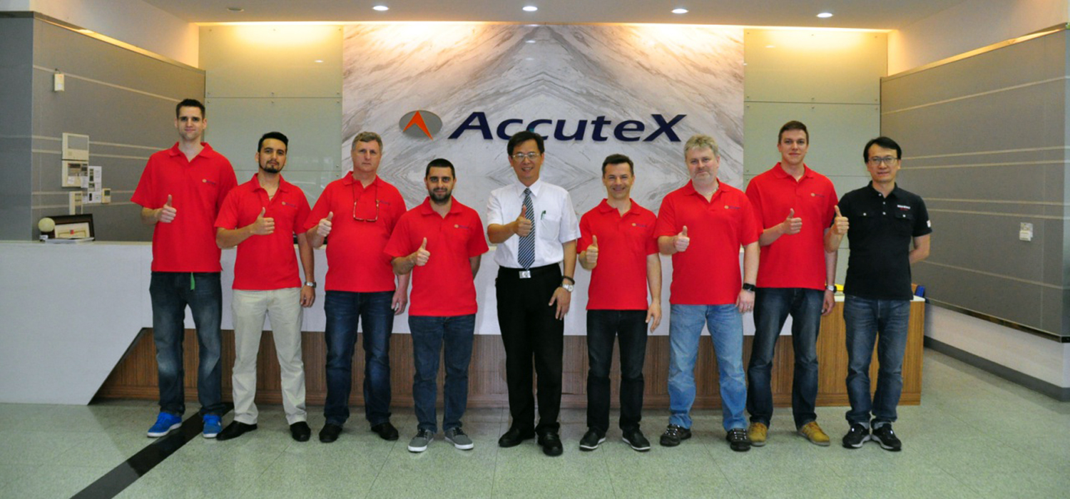 "CAPACITACIÓN ACCUTEX ""TAIWAN"""